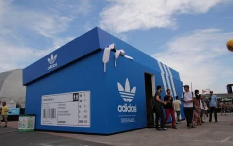 Pop Up Store de Adidas en Buenos Aires
