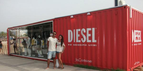 Pop Up Store de Diesel en Ibiza